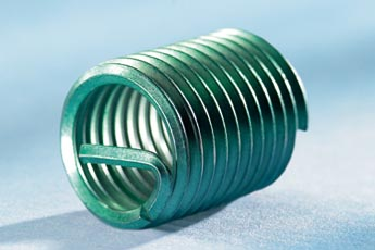 Helicoil Plus Thread Insert M6 x 1.0 x 1.5D Long Pack of 10