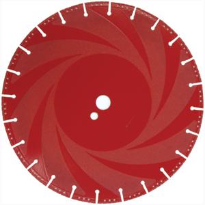 DIAMOND CUT OFF DISC 350X25 ( RESCUE BLADE )