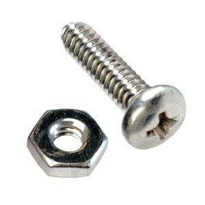 1/4IN X 1-1/4IN UNC PAN HD SET SCREW 316/A4 (C)