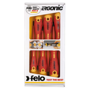 413 Series Ergonic Screwdriver Set 6pc Insulated