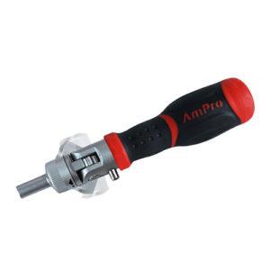 Ampro T32128 Flex Ratcheting Screwdriver