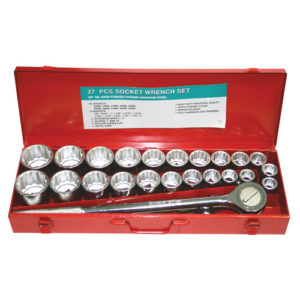 "6027 3/4"" Dr Socket Set 27pc 7/8""-2""  22-50mm"
