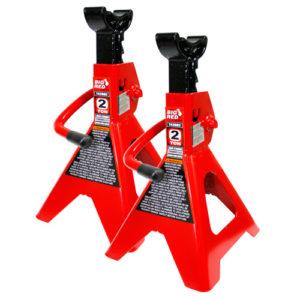 T42002 Axle Stand (1Pr) 2 Ton Min Ht 275mm / Max Ht 420mm