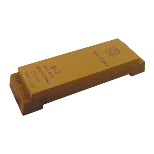 S3 Water Stone with Plastic Base 6000 Grit 185 x 62 x 15mm