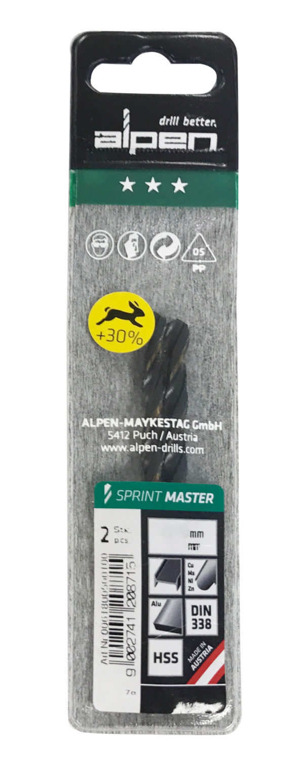 Alpen Series 618 Sprint Master in Plastic WalletØ 6.0 (Pkt of 2)