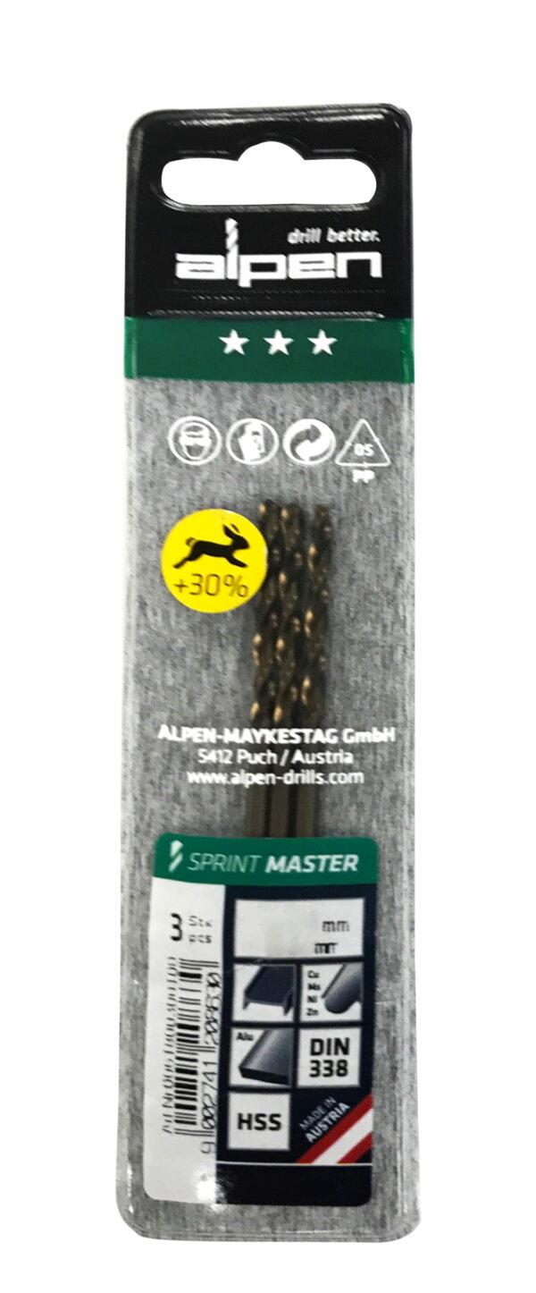 Alpen Series 618 Sprint Master in Plastic WalletØ 3.3 (Pkt of 3)