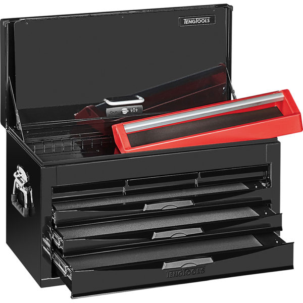 Teng 6-Dr. 8-Series Top Tool Box (Black)