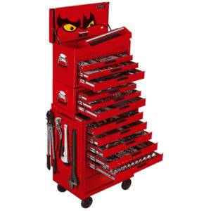 600PC TENGTOOLS MEGA MASTER MM/AF TOOL KIT (NF)