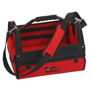 TENG 16IN CANVAS TOOL BAG W/METAL HANDLE