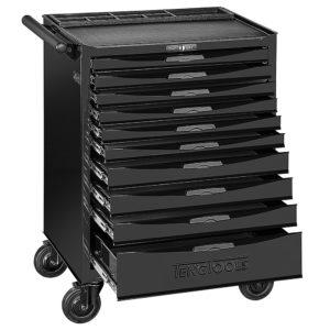 Teng 10-Dr. 8-Series Roller Cabinet (Black)