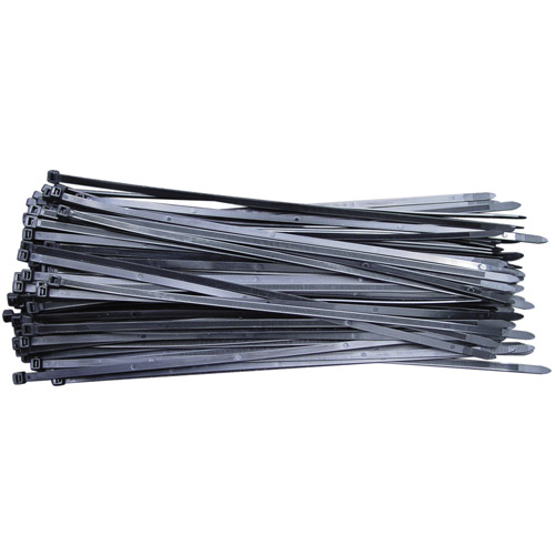 CV240LW Cable Tie 240 x 7.6mm Black Pack of 100