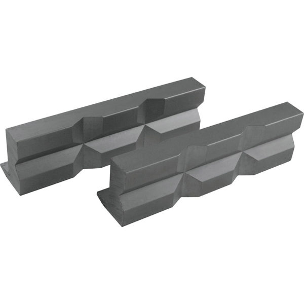 ITM Soft Vice Jaws Alumimium Prism Face 125mm