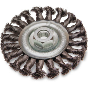 ITM Twist Knot Wheel Brush Stainless Steel 125mm