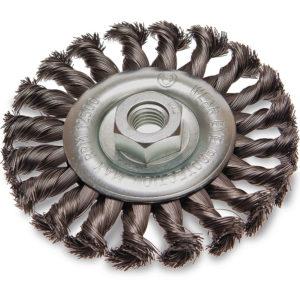ITM Twist Knot Wheel Brush Steel 100mm