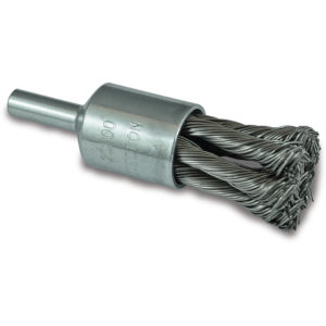 ITM Twist Knot End Brush Steel 25mm