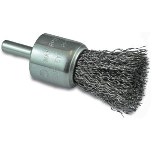 ITM Crimp Wire End Brush Stainless HSS 25mm