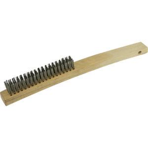 ITM Wire Brush 353mm - 3 Row Brass