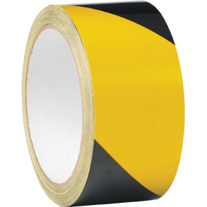 Line Marking Tape Yellow/Black 48mm x 33m