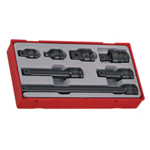 7PC 1/2IN DR. IMPACT ACCESSORIES SET (DIN)