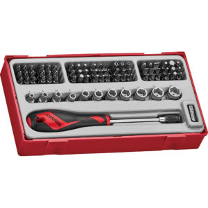 Teng 76pc MD Bits & Socket Set - TC-Tray
