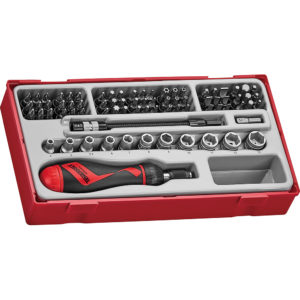 Teng 84pc MD Bits & Socket Set - TC-Tray