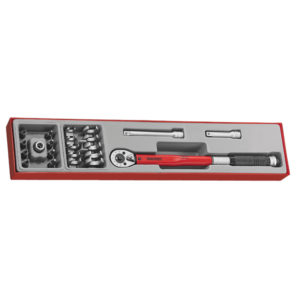 22PC 3/8IN DR.TORQUE WRENCH SET 20-100NM