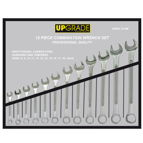 WSWRC-CM120 Combination Wrench Set 8-19mm 12pc