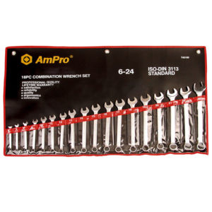 "T40195 Combination Wrench Set 1/4-1.1/4"" 16pc"