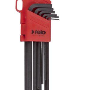 BLX9 Ballpoint Hex Key Set 9pc 1.5-10mm