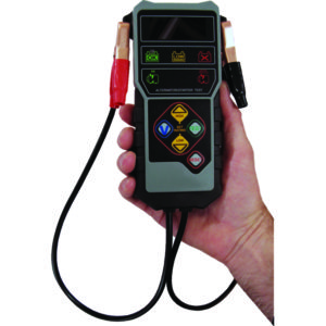 DIGITAL BATTERY TESTER - 7.6V-17V DC