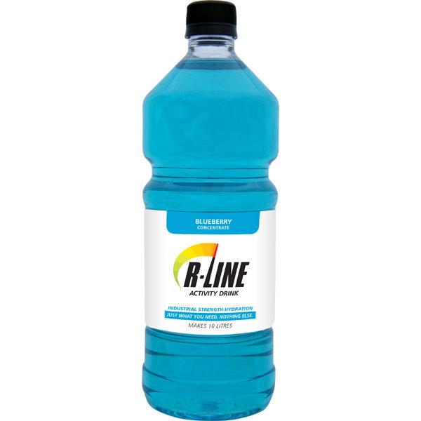 R-LINE™ ELECTROLYTE DRINK 1L - BLUEBERRY